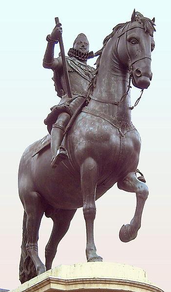 Monumento a Felipe III Cementerio de gorriones