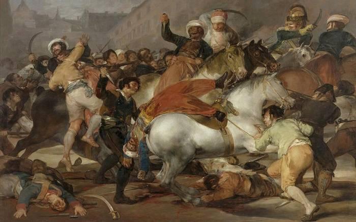 Levantamiento del 2 de Mayo Goya