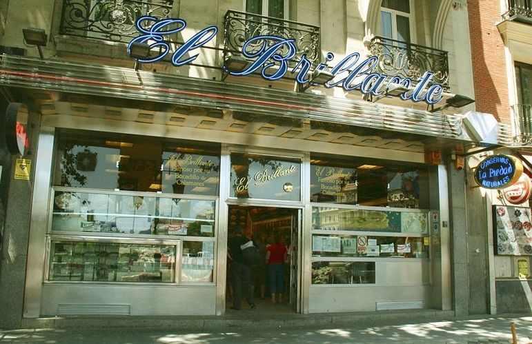 calamari sandwich madrid El Brillante