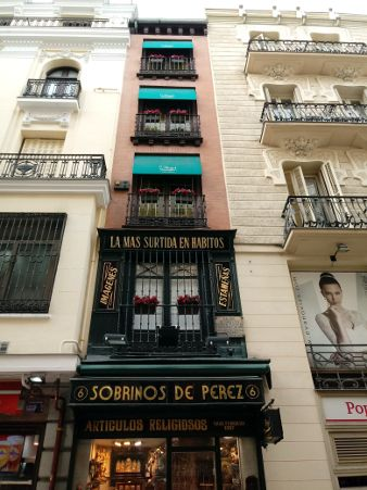 narrowest building of Madrid