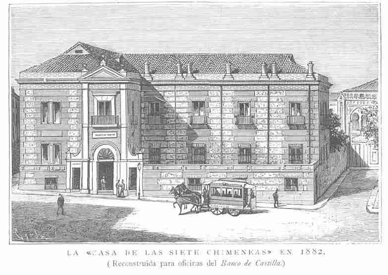 The House With the Seven Chimneys in the 19th Century