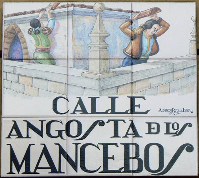 Calle Angosta de los Mancebos (Madrid)
