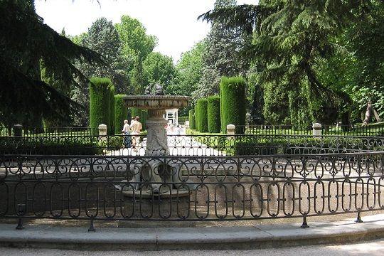 El parque del Capricho fuente