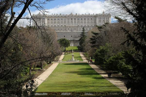 Royal Palace tunnels and passages of Madrid