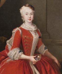 Maria Amalia de Sajonia Portrait - Prado Museum