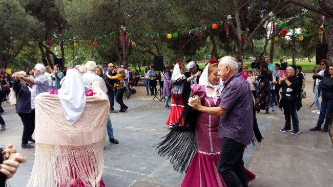 La Paloma festivity Chotis