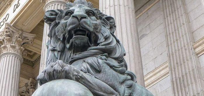 historia leones congreso de los diputados