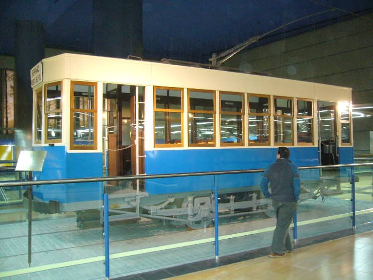 The history of the tram of Madrid