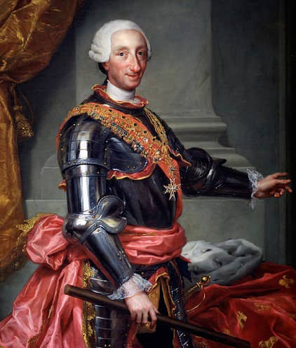 Carlos III - King of Spain Portrait
