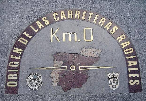 Kilometer Zero of Madrid