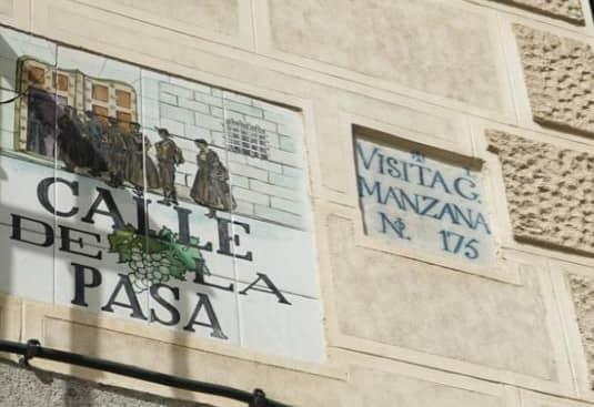 Visita General Manzana calle pasa
