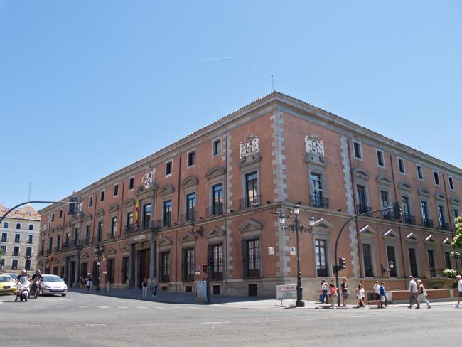 where did the nobles lived in Madrid - Palacio del Duque de Uceda