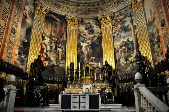 Basílica San Francisco el Grande frescos base