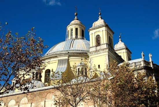 Basílica San Francisco el Grande frescos cúpula exterior