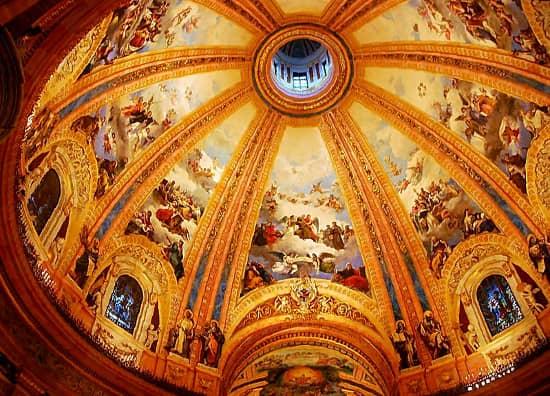Basílica San Francisco el Grande frescos cúpula